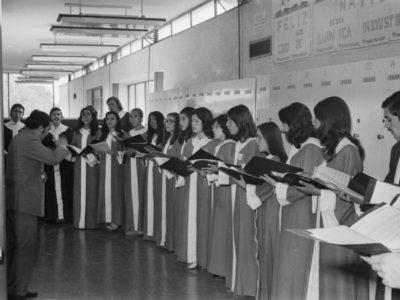 Coro de Química Industrial UTE, 1973.