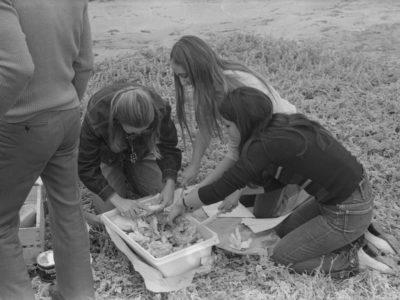 Coro UTE en La Serena, 1974.