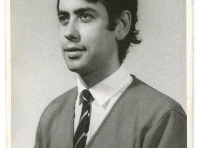 Gonzalo García, integrante Coro UTE.