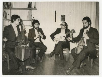 Grupo de música clásica Syntagma Musicum de la UTE