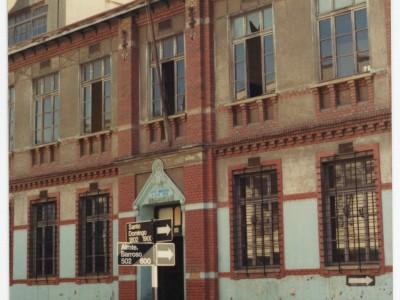 Ex sede de la Escuela de Ingenieros Industriales usada entre 1948 y 1962