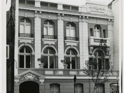 Ex Casa Central UTE antes de trasladarse a la Unidad Universitaria