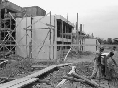 Construcción Laboratorio Central de Química, 1963