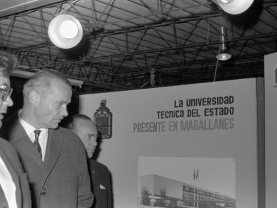 La Universidad Técnica del Estado presente en Magallanes. La sede se funda en 1961.