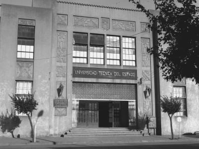 Escuela Industrial de Temuco fundada en 1916. Se anexa a la UTE en 1952.