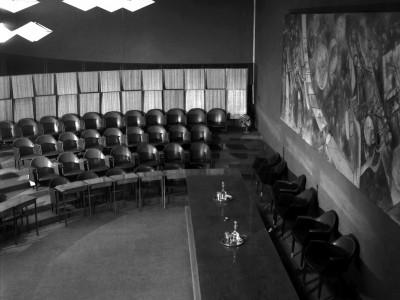 Sala del Consejo, actual Salón de Honor