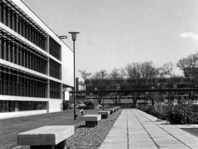 Casa Central y Patio de las Rosas, Unidad Universitaria