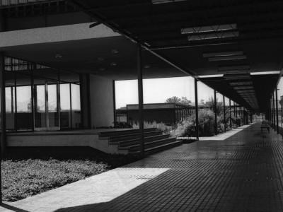 Circulaciones e Instituto Pedagógico Técnico (actual Facultad de Humanidades)