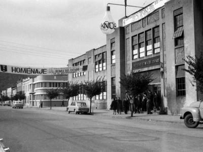 Escuela Industrial de Temuco fundada en 1916. Se anexa a la UTE en 1952
