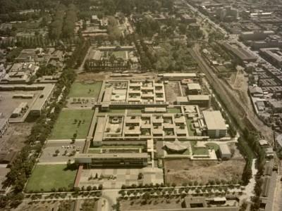 Vista aérea de la Unidad Universitaria