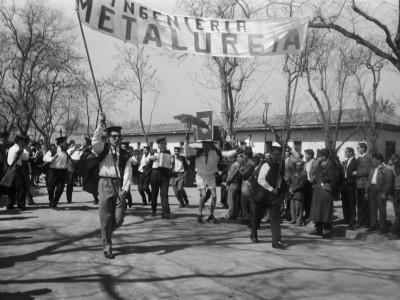 Traslado de la Escuela de Ingenieros Industriales a la nueva Unidad Universitaria, 1962