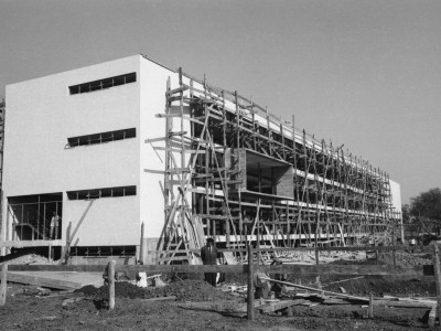 Construcción Casa Central, 1960