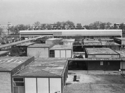 Vista de salas de clases sector Instituto Pedagógico Técnico