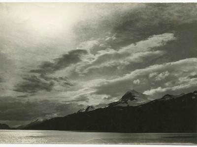 Fotografía tomada durante filmación de documentales en la Antártica.
