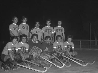 Equipo de hockey patín. Fecha desconocida.