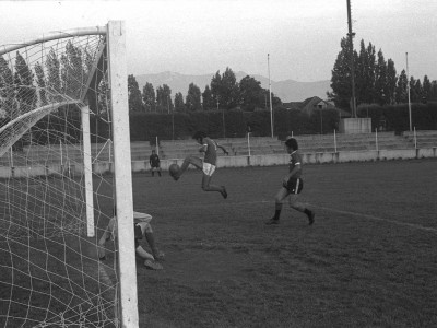 Final campeonato interno de fútbol UTE. Fecha desconocida.