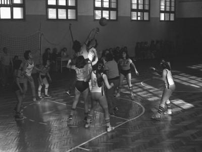 Final del campeonato interno de básquetbol femenino. Fecha desconocida.