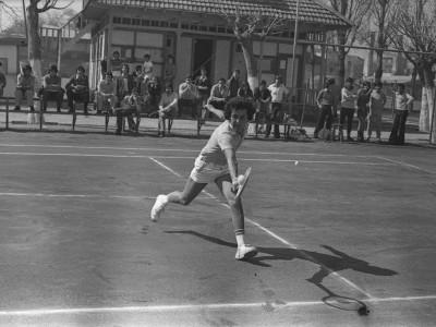 Campeonato interno de tenis. Fecha desconocida.