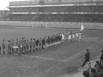 Competencias de fútbol en Olimpiadas de funcionarios y funcionarias UTE. 1965.