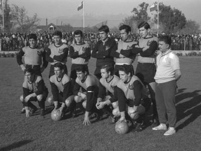 Plantel Club de Deportes UTE de Santiago. 1966.