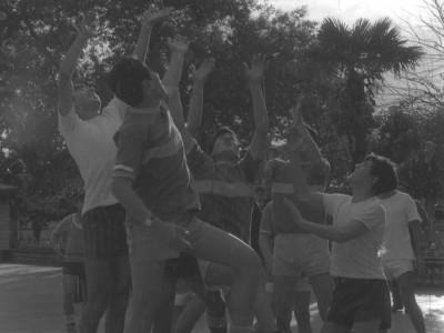 Estudiantes de la Escuela Industrial de Talca. 1966.