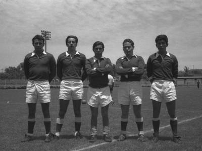Representantes rugby UTE. Fecha desconocida.