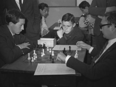 Torneo de ajedrez UTE. 1° Olimpiada Universitaria UTE. 1965.