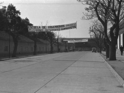 1°Olimpiada Universitaria UTE. 1965.