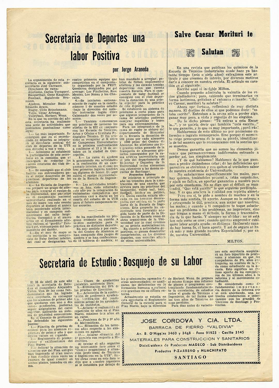 Revista Vértice, 1963, N° 6