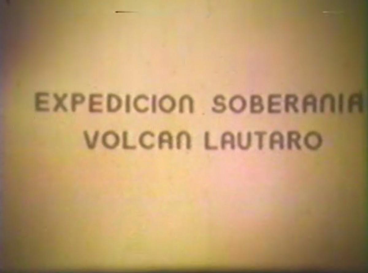 Expedición Soberanía Volcán Lautaro