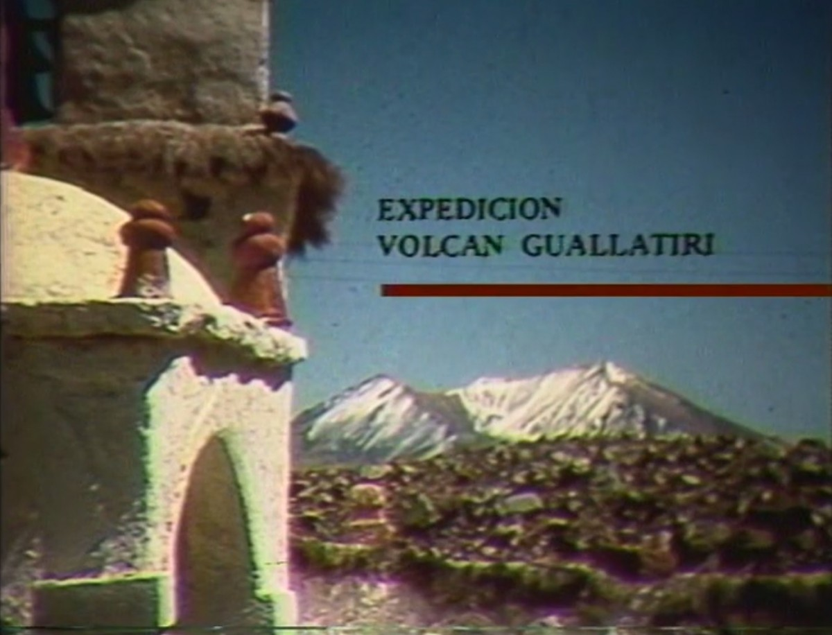 Expedición Volcán Guallatiri