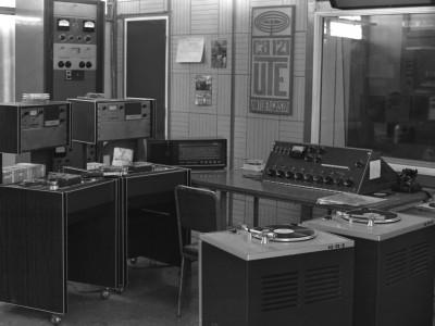Radio UTE Sede Antofagasta. Fecha estimada 1974.