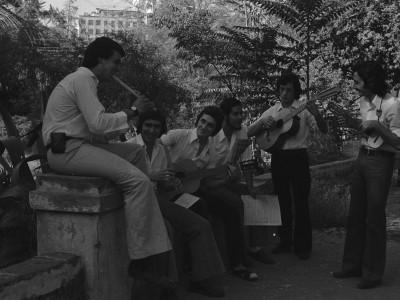 Barroco Andino en Parque Quinta Normal. 1974.