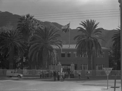 Frontis de la sede UTE Copiapó. 1974.