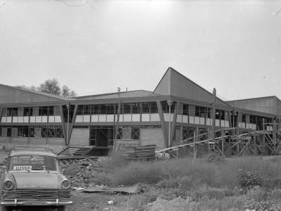 Construcción del Centro de Salud. Fecha estimada 1975.