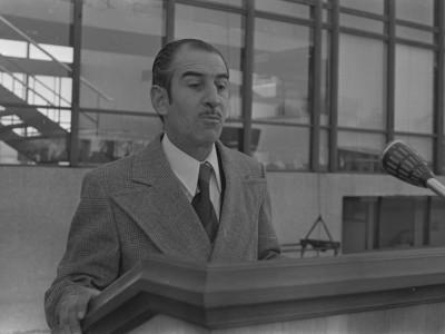 Luis Alava Cerda, Secretario General de la UTE. 1975.