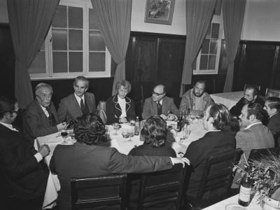 Reunión de la comisión organizadora de la II Jornada Nacional de Cultura. 1976.