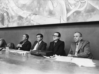 Primer Encuentro Nacional de Filosofía. Fecha estimada 1976.