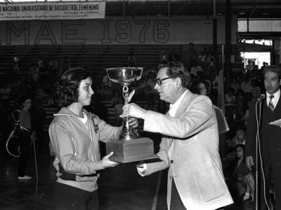 IV Campeonato Nacional Universitario de Básquetbol Femenino. 1976.