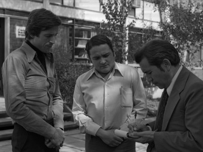 Directiva del Consejo Superior Estudiantil. 1977.