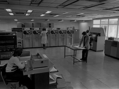 Centro de Computación (CECUTE). Fecha estimada 1978.