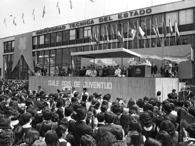 Discurso del General Augusto Pinochet en el aniversario de la Secretaría Nacional de la Juventud. 1976.
