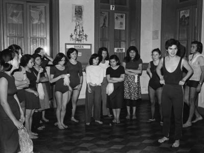 Talleres de Danza en Casa de la Cultura. 1978.