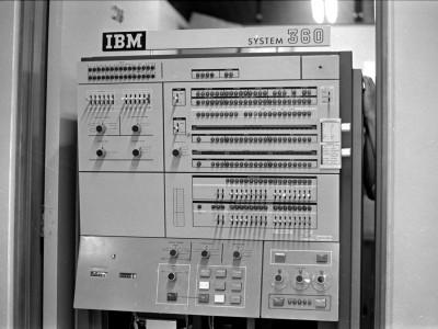 Computador IBM. Fecha desconocida.
