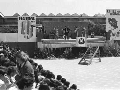 Festival de la Voz. Fecha estimada 1977.