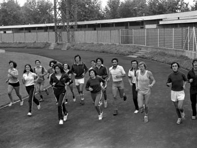 Deportes en semana mechona. Fecha estimada 1979.