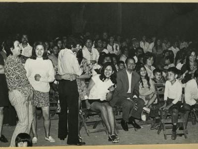 Público en función del Teatro Teknos. Sin fecha. (Donación Adriano Castillo)