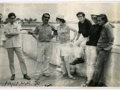 Teatro Teknos en gira internacional. Panamá, 1970. (Donación Juan Quezada)