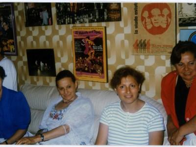 Reencuentro del elenco Teknos en casa de Gladys del Río. Sin fecha. (Donación Juan Quezada)