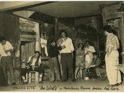 """Obra """"Pan Caliente"""" del Teatro Teknos. Sin fecha. (Donación Adriano Castillo)"""